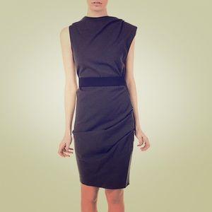 Black Lanvin wool dress